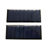 China Mini Solar Panels / Epoxy Resin Solar Panel For Electric Torch Lighting on sale