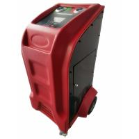 Quality X565 Car Refrigerant Recovery Machine / Flushing Car Air Condition Keypad Oil Injection for sale