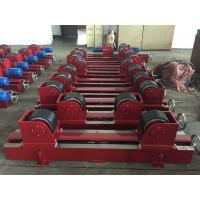 Quality Manual Screw Pipe Welding Rollers With 2x0.55Kw Motor Power , CE Certification for sale