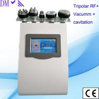 Buy cheap 5 in 1 ultrasonic cavitation liposuction machine tripolar rf skin tightening six from wholesalers