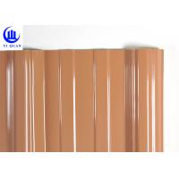 Quality 3 Layers Thermal Plastic External Upvc Sheets Corrugated Upvc Rooftop for sale