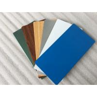 Buy Glossy Blue ACP Aluminium Composite Panel 2000mm Width With 0.30mm Alu Thickness at wholesale prices