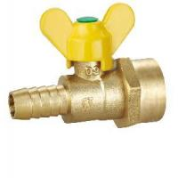 Quality Female Thread Butterfly Brass Gas Valve (SS9040) for sale