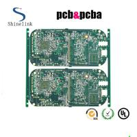 Quality OEM custom single sided printed circuit board with Gerber file for sale