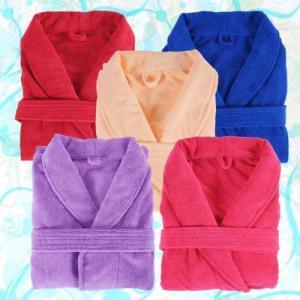 microfiber bathrobe / microfiber bath robe