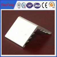 Buy 6063 aluminium angle extrusion profiles for solar panel frame at wholesale prices