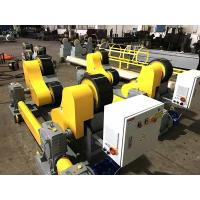 Quality Heavy Duty Pipe Rollers / Pipe Welding Rollers With PU Wheels , 40T Capacity for sale
