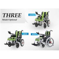 Buy Big Wheel Manual And Electric Folding Wheelchair With Spray Material For Disabled People at wholesale prices