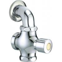 """Quality Button Self Closing Toilet Flush Valve Matching With G1"""" Or G3/4"""" Inlet For Squat Pan for sale"""