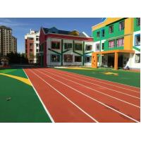 Quality Universities Rubber Running Track Surface Without Contain Of Heavy Metal for sale