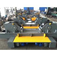 Quality Rubber / Metal Conventional Pipe Welding Rollers 100T For Tank Fit Up Welding for sale