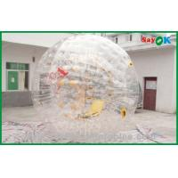 Quality 0.7mm TPU Giant Bubble Inflatable Zorb Ball / Inflatable Sports Games for sale