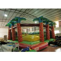 Quality Inflatable soft moutain sport game inflatable jumping hill with safety net for sale