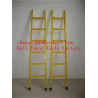 Quality A-shape fiberglass insulated ladders hot selling ladder for sale