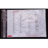 Buy High Level Tamper Evident Security Bags , Plastic Security Money Bags at wholesale prices