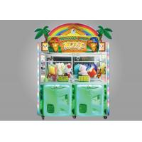 Quality Scissors Man Arcade Claw Machine / 350W Kids Claw Machine With LED Lighting Effect for sale