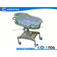 Anti-rust Stable ABS Plastic Hospital Baby Cots Bed / Cart For Children Welfare