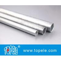 Quality EMT Conduit And Fittings Carbon Steel Galvanised Tube , Electrical Metallic Tubing for sale