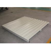 Buy Powder Coated Custom Metal Pallets For Warehouse Management Storage , 500-5000kg at wholesale prices