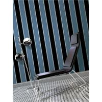 Buy cheap Top quality waterproof mould proof stripe design PVC vinyl wallpaper from wholesalers
