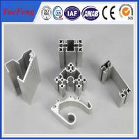 Quality Hot! types of industrial aluminum profile, Manufacturer of aluminum profiles for sale