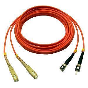 Quality Fiber Optic Jumper-SC/PC-ST/PC Jumper for sale