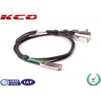 26 AWG 4 x 10G QSFP to SFP Cable 40 GBPS Compatible CISCO H3C JUNIPER for sale