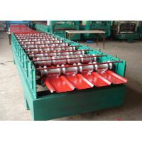 Quality 5.5KW Secret Joint Roof Panel Roll Forming Machine Hydraulic Cutting With CE for sale