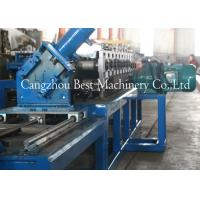 Quality Drywall Metal U Track Frame Roll Foring Machine 3KW 2 Years Warranty for sale