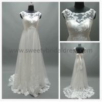 Buy cheap Aline High Neck Lace Appliques Lace and Tulle Wedding Dress #LT2132 from wholesalers