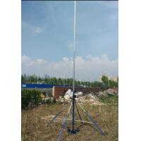Quality 35 feet Light weight Push Up or winch  telescoping antenna mast light tower mast with tripod for sale
