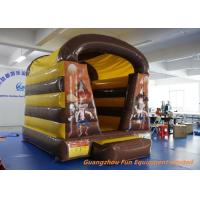 Buy Air Fun City West Wild Shoot Out Inflatable Bouncy Castle 3 * 3m Customized at wholesale prices