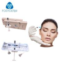 Buy 1ml 2ml 10ml Injectable Dermal Filler , Cross Linked Hyaluronic Dermal Fillers Ha at wholesale prices