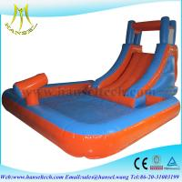 Quality Hansel kids jumping toys,water inflatable,inflatable games for adults for sale