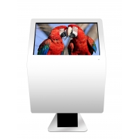 "Buy cheap 3840X2160 49"" 500cd/m2 Interactive Touch Screen Kiosk For Lobby from wholesalers"