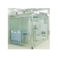 Quality Movable Vertical Air Flow SoftWall Clean Room 304 Stainless Steel Cleanroom for sale