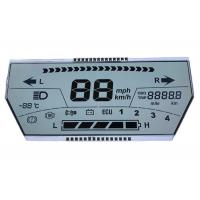 Buy cheap Seven Segment TN LCD Display / Reflective LCD Monochrome Numeric Display Panel from wholesalers