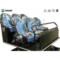 Quality Pneumatic / Hydraulic / Electronics Motion Theater Chair For 5D Cinema Theater for sale