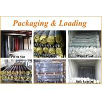 Packing&Loading of chain link fence