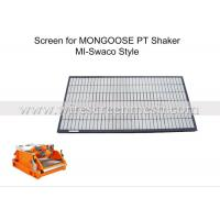 Buy cheap Bulletproof Brandt Shaker Screens , Brandt Shaker Screens Abrasion Resistance from wholesalers