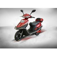 Quality 72V 1000W 20AH Lead - Acid Battery Powered Motor Scooter With Rear Box for sale