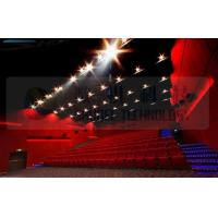 Quality 4D movie theater , thrilling movie , drastic movement of motion chair for sale