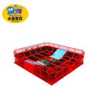 China Big Capacity Jump Trampoline Park With Safety Net Fire Resistance on sale
