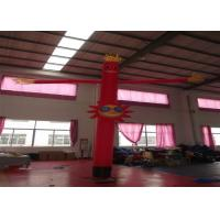 Quality Nylon Advertising Inflatable Air Dancer Man 4m , Inflatable Advertising Balloons for sale