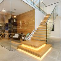 Buy cheap Inner house long straight staircase with 3 years warranty from wholesalers