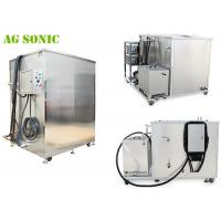 Quality Large Customized Industrial Ultrasonic Cleaner for Engine Parts Removing Oil for sale