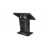 """Quality Floor Stand 1920x1080 43"""" Lcd Digital Signage Totem 450cd/m2 for sale"""