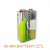 China 9V 160mAh /1.2v Nimh rechargeable battery packs for toy cars, electric razor on sale