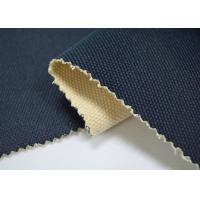 Quality 24 OZ Blue Color Coated Cotton Canvas / 100 Cotton Canvas For Bags for sale