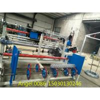 Quality 3m width Double wire feeding Fully Automatic Chain Link Fence  Machine for sale